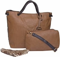 ILU Shoulder Bag(Brown, Black)