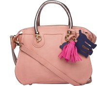 ILU Hand-held Bag(Pink, Silver)