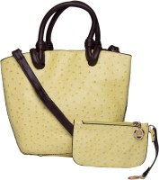 ILU Tote(Yellow, Brown)