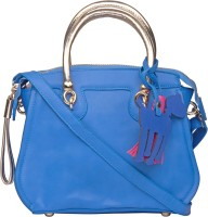 ILU Sling Bag(Blue, Silver)