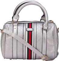 ILU Hand-held Bag(Silver, White, Red)