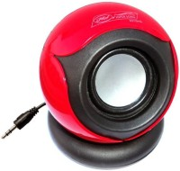 Mezire HS656 RED-01 3 W Mobile/Tablet Speaker(Red, Mono Channel)