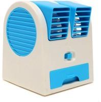 View Attitude Mini Cooler Mini stylish Cooler ZR-120 USB Fan(Blue) Laptop Accessories Price Online(Attitude)