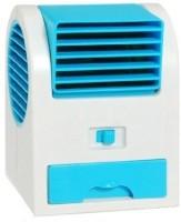 View Attitude Mini Cooler Mini stylish Cooler ZR-116 USB Fan(Blue) Laptop Accessories Price Online(Attitude)
