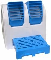 View Attitude Mini Cooler Mini stylish Cooler ZR-106 USB Fan(Blue) Laptop Accessories Price Online(Attitude)