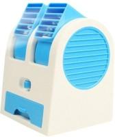 View Attitude Mini Cooler Mini stylish Cooler ZR-126 USB Fan(Blue) Laptop Accessories Price Online(Attitude)
