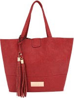 Gio Collection Tote(Red)