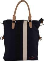 FLIP Women Blue Canvas Hand-held Bag