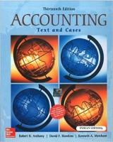 ACCOUNTING: TEXT & CASES 13th Edition(English, Paperback, ANTHONY)