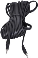 Vardhman 10 Meter Stereo AUX Audio Cable AUX Cable(Black)