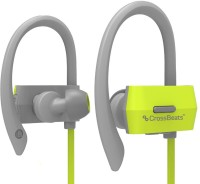 View CrossBeats Raga Active bluetooth Headphone(Green, In the Ear) Laptop Accessories Price Online(CrossBeats)