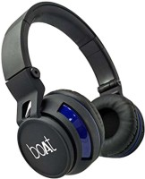 boAt rockerz 350 Wired & Wireless bluetooth Headphone(Black, On the Ear)