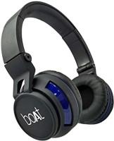 boAt rockerz 350 Wired & Wireless bluetooth Headphone(Black, On the Ear)
