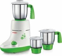 Snapple Kiwik 550 W Mixer Grinder(White, Base Green, 3 Jars)