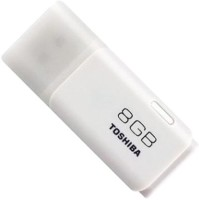 Toshiba USB Flash Drive 8 GB Pen Drive(White)