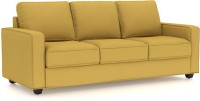 View Comfy Sofa Classy Leatherette Sectional Yellow Sofa Set(Configuration - Straight) Furniture (COMFY SOFA)