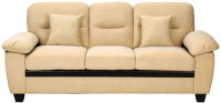 View Comfy Sofa Classy Fabric Sectional Beige Sofa Set(Configuration - Straight) Furniture (COMFY SOFA)