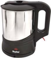 Skyline VTL-5004 1.7L Stainless Steel Electric Kettle(1.7 L, Black & Silver)
