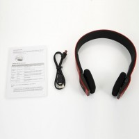 VibeX � BH23 3.0 EDR 2ch Stereo Audio with Microphone Headset with Mic(Red, Black, Over the Ear)