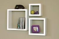View Wallshelf na MDF Wall Shelf(Number of Shelves - 3, White) Furniture (Wallshelf)