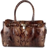 SAINT G Saint G Hand bag Weekender(Brown, 10 L)