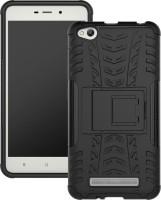 Flipkart SmartBuy Back Cover for Mi Redmi 4A(Space Black, Shock Proof, Rubber, Plastic)