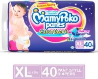 MamyPoko Pants - XL(40 Pieces)