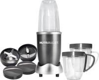 NutriBullet Hi-Speed 8 Pieces Set System 600 W Juicer Mixer Grinder(Grey, 3 Jars)