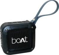 boAt Stone 200 Portable Bluetooth Mobile/Tablet Speaker(Black, Stereo Channel)