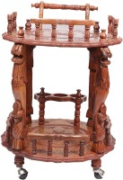 View Aarsun Woods Wooden Kitchen Trolley Furniture (Aarsun Woods)