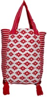 Diwaah Women Red Cotton Tote
