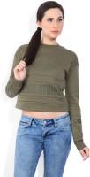 Adidas Full Sleeve Printed Women Sweatshirt