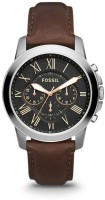Fossil FS4813I Grant Chronograph Watch For Men