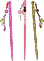Yashasvi Juda Sticks Hair Accessory Set(Multicolor)