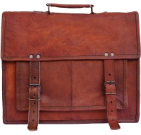 CRAFAT Messenger Bag(Brown, 9 L)