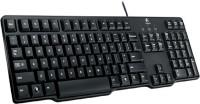 Logitech k100 PS2 Desktop Keyboard(Black)