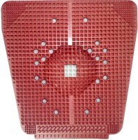 VibeX ACM-TYPE�-012 � Power Mat with Magnets n Pyramids for Pain Relief Massager(Red) - Price 599 80 % Off