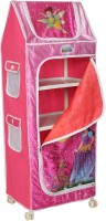 View Playhood PVC Collapsible Wardrobe(Finish Color - PINK) Furniture (Playhood)