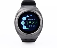 VibeX ® S600 Men Women Pedometer Sleep Monitor Phone Wearable Device Smartwatch(Black Strap Free Size)