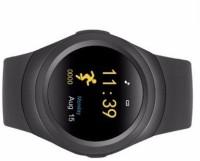 VibeX ® Men Women Pedometer Sleep Monitor Phone Wearable Device Smartwatch(Black Strap Free Size)