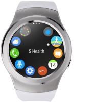 VibeX ® Men Women Pedometer Sleep Monitor Phone Wearable Device Smartwatch(White Strap Free Size)