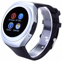 VibeX ® GSM Mobile Phone TF Card Slot MP3 Player Men Women Pedometer Sleep Monitor Wearable Device Smartwatch(Silver Strap Free Size)