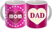 SKY TRENDS Gift For Father/Mother And Father/Anniversary Surprised For Parents STD-006 Mug Gift Set