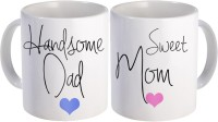 SKY TRENDS Gift For Father/Mother And Father/Anniversary Surprised For Parents STD-012 Mug Gift Set