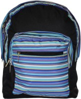 Tinytot Waterproof School Bag(Black, Blue, 18 inch)