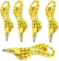 IMobile Fabric 1 Meter [ Pack of 5 ] Micro USB Data Sync & Charge Cable(Yellow)