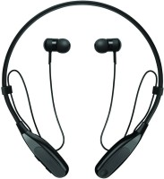 Wonder World � Cross -118 Mini Stereo Sweatproof Sports earphone with Mic Headset with Mic(Black, In the Ear)