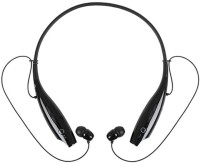 Wonder World �� Sweatproof BT-05 Stereo 4.0 Handsfree Sports Gym Earphone with Microphone Headset with Mic(Black, In the Ear)