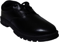 Welcome Boys Lace Running Shoes(Black)