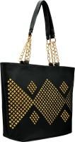 tap fashion Women Black Shoulder Bag